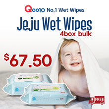 ◆102th RESTOCK◆4BOX BULK SALE!!/Jeju Wet Wipes/ NO.1 Wet Wipes in SG/Manufactured on JAN.02.2019