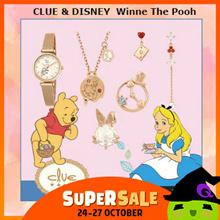 CLUE x DISNEY Winne The Pooh / Earrings / Necklace / Bracelet / Watch / Wallet / Bag From korea