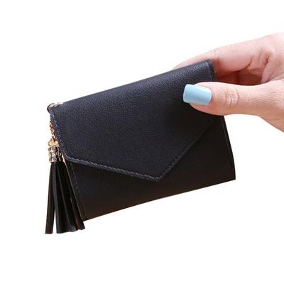 mini tassel pendant mini wallet