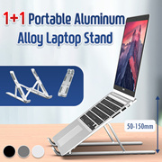 [1+1] Computer stand   Aluminum alloy laptop stand cooling portable base