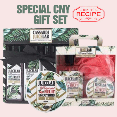 BEAUTE RECIPE CNY GIFT SET COLLECTION Deals for only Rp105.500 instead of Rp162.308