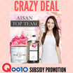 [70pcs ONLY EACH] AISAN TOP TEAM --- Pure Flower Extract Shampoo  // Hair Mask