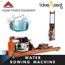 WATER ROWING MACHINE ★ FITNESS EQUIPMENT ★ HOME GYM ★ EXERCISE ★ WORKOUT