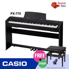 [ DIGITAL PIANO SALE! ] CASIO PX-770 Privia Digital Piano| Music Keyboard |   Portable Keyboard |