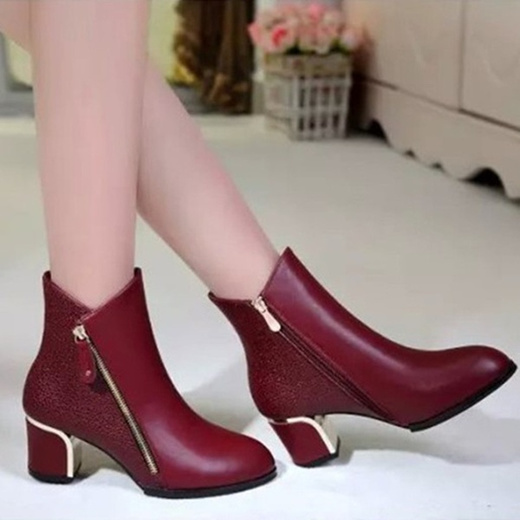 Womens Casual Sport Shoes Broad Heels
