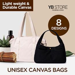 (SG Seller) YB Store/ Shoulder Bag/ Hand Bag/ Canvas Bag/ Bags/ Travel/ Messenger Bag