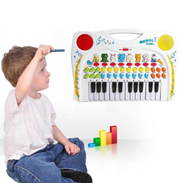 Baby Musical Educational Recording Replay Animal Sound Toy Piano Music Toys Sound Toy for Children K