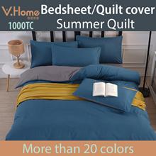 【Premium Thicker Material Bedsheet/Quilt cover/Pillow Bolster case】Best Value!