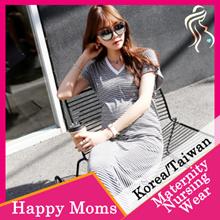 HAPPYMOMS *KOREAN MATERNITY NURSING DRESS* STYLISH AND FASHIONABLE-IMPORTED FROM KOREA/TAIWAN