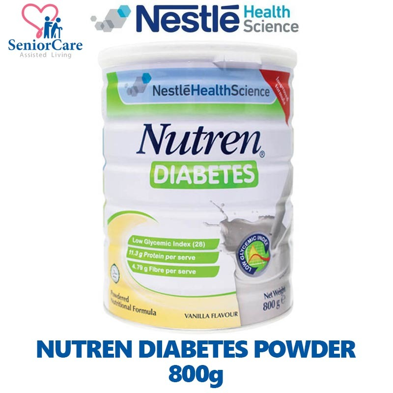diabetes nutren nestle nutrición