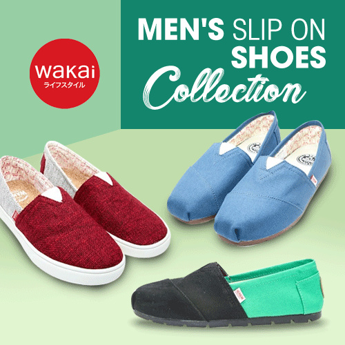 Mens WAKAI Shoes Collections Deals for only Rp224.500 instead of Rp224.500