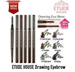 Pensil alis ETUDE HOUSE Drawing eye brow + brush SJ0055