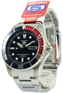 [CreationWatches] Seiko 5 Sports Divers Automatic SNZF15J SNZF15 Mens Watch
