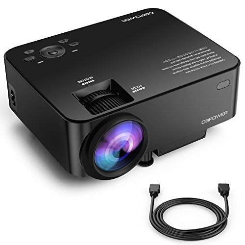 Qoo10 Upgraded Dbpower T20 Lcd Mini Projector With 10 Brighter Projection Tv Entertainme