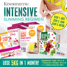*INTENSIVE SLIMMING* Lose 5kg! SuperfoodLady (Diet) + CleansenShape (Slimming) + Detox Enzyme (Dtox)