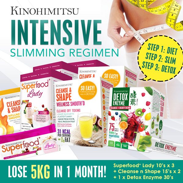 *INTENSIVE SLIMMING* Lose 5kg! SuperfoodLady Deals for only S$189.4 instead of S$189.4
