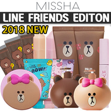 [MISSHA] ★2019 LINE FRIENDS EDITION★ PERFECT COVER BB / BOOST CARA / GLOW TENSION / FILTER SHADOW