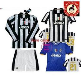 Juventus Juventus jersey 14-15 Juventus home shirt-sleeved long-sleeved long section of the Thai version Juventus
