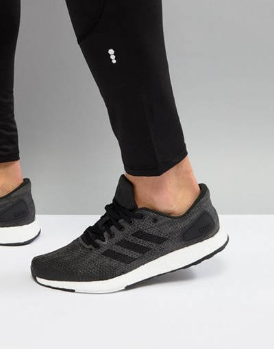 adidas Running PureBoost DPR In Black BB 6291