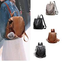 大容量 ベットファッションレディースバックパック/ショルダーバッグ/使い勝手がよい/旅行/通学/日常用女子鞄/バッグ-2 Types