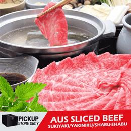 Daging Sapi AUS Sliced Beef/Sukiyaki/Yakiniku/Shabu-shabu beef