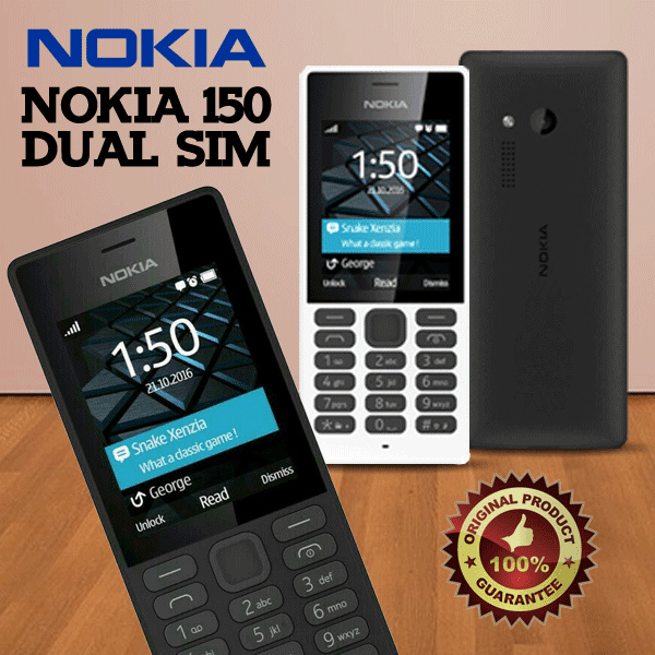 Nokia 150 Dual SIM Deals for only Rp415.000 instead of Rp415.000