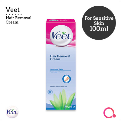 Qoolife Mall Rb Veet Hair Removal Cream For Sensitive Skin 100ml