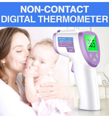 2019 HOT SELLING Digital Forehead Thermometer / Non-Contact Instant Read Fever Sensor