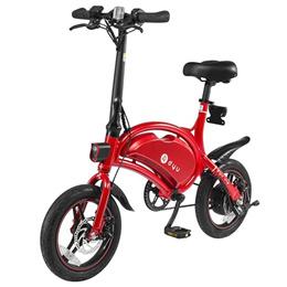 F - wheel DYU D3 Outdoor Aluminum Alloy Smart Folding Electric Bike Moped Bicycle