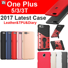 Latest Oneplus 5 3/3t Case Cover Tempered Glass Screen Protector for OnePlus 5 3 3T Casing