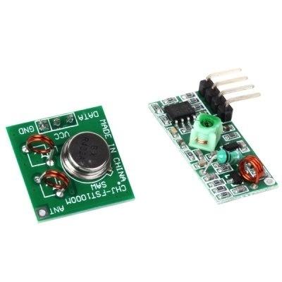 V36 433MHz RF Transmitter Receiver Link Kit for Arduino / ARM / MCU Remote  Control