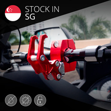[MOTOMALL] Heavy Duty Aluminium Alloy Hook for e-scooter Motorbike Bike  Bicycle Motorcycle