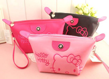 ♥ Ready Stock - Cute Hello Kitty Travel Helper Useful Make Up Pouch *3 colors*