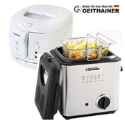 [GEITHAINER] Electric Household fryer ★Must have item for Electric Fryer at home★ Deep Fryer n Mini Fryer / 1.2L(GT-100FR) 2.5L(GT-A201FR) / Fries Machine / Home baking