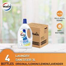 Walch Laundry Sanitiser 3L x 4 Bottles
