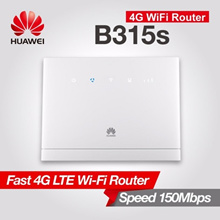 Huawei B315 CPE 4G Sim Card Router MIFI WIFI Router Wireless Hotspot (White) Cat 4