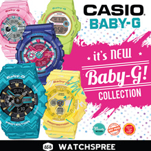 *CASIO GENUINE* CASIO BABY-G Watches Collection! 1 YEAR WARRANTY AND FREE SHIPPING!