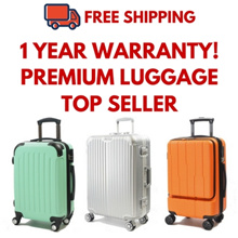**FREE SHIPPING** High quality 4 Wheel Spinner Luggage With 1 Year Warranty
