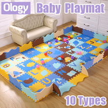 Baby Floor Play Mat 3D Puzzle Kids Playground Infant Jigsaws Playmat Child Crawl Board Carpet