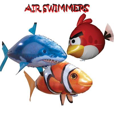 Qoo10 - Sugu Air Swimmers / Flying Fish Mainan Remote