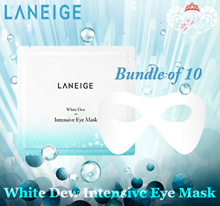 [10g x 10pcs] Laneige White Dew Intensive Eye Mask