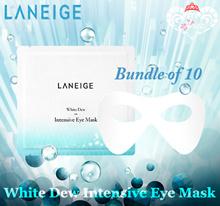 [10g x 10pcs] Laneige White Dew Intensive Eye Mask