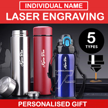 [BOTTLE GIFT]★Name Engraving★Personalised Bottle★Vacuum Bottle★SG Engrave Service / Fast delivery