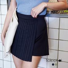 TOKICHOI - Pleat Detail Skort-6019505