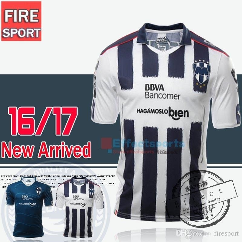 d390f76d88e4d fit to viewer. prev next. 2016 Top Quality Mexico Monterrey Soccer Jersey  16 17 camisetas de futbol ...