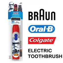 Oral-B / Colgate / Spinbrush electric toothbrush for kids / Children / Battery