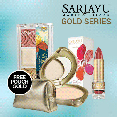 Sariayu Gold Series A Deals for only Rp152.000 instead of Rp152.000