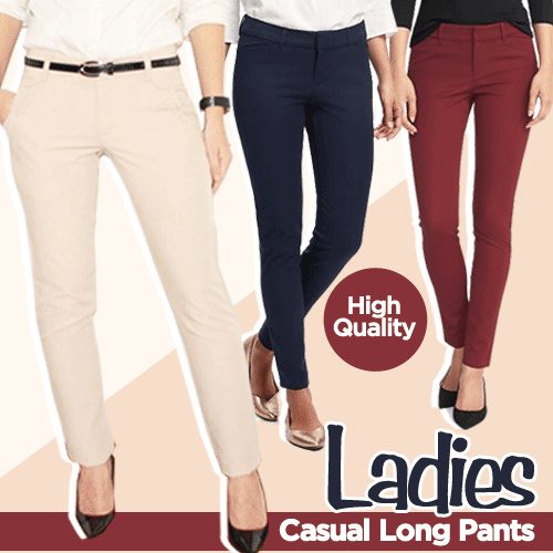 New! Collection Women Casual Long Pants_Good Material_Celana Panjang Wanita Deals for only Rp85.000 instead of Rp130.769