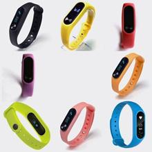 Creative Original Band 2 Smart 8 Colors Fitness Bracelet Smart Watch Wristband Miband OLED Touc