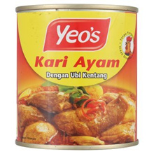 [ Halal Certification ] Yeo s Chicken Curry with Potatoes 280g